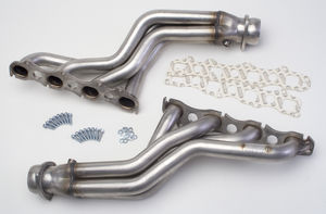 "STAINLESS Headers; 09-17 Dodge Challenger 5.7L; LONG TUBE; 1-3/4"" Tubes-UNCOATED"