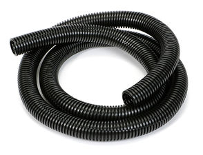 "BLACK Wire Harness; Convoluted; 3/4"" Diameter- (5 ft)"