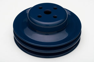 WATER PUMP Pulley; 2 Groove; 1965-1966 FORD 289; O.E. Water Pump- FORD BLUE