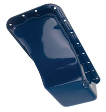 "58-76 Ford 352/390/406/427/428 (Front Sump) ""OE STYLE"" Oil Pan-FORD Blue (Stock)"