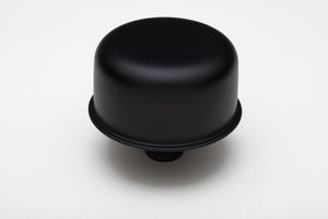"3/4"" Neck PCV Breather Cap; 2-3/4"" Overall Diameter -ASPHALT BLACK Powder Coated"