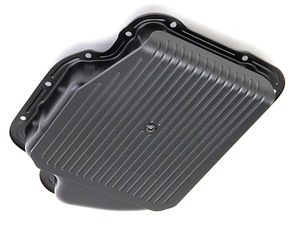 GM Turbo 400 SLAM-GUARD Transmission Pan (Stock Capacity)- ASPHALT BLACK