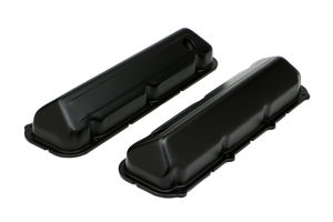 FORD 429-460 ASPHALT BLACK POWDER COATED VALVE COVERS