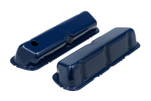 FORD 5.0L FORD BLUE POWDER COATED VALVE COVERS