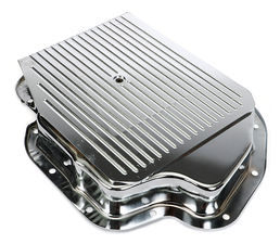 GM Turbo 400 SLAM-GUARD Transmission Pan (Stock Capacity)-CHROME