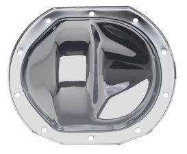 "FORD 7.5"" (10 Bolt), Some Mazda; Complete Chrome Differential Cover Kit"