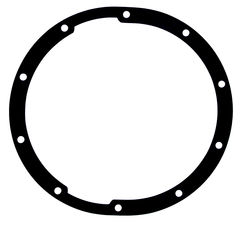"CHEVY- 10-Bolt (8-1/2"" Ring Gear), Differential Cover Gasket"