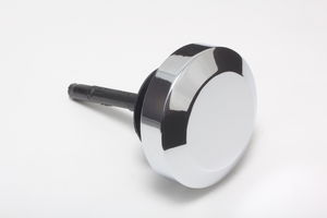 Power Steering Pump Cap With Dipstick GM A-Can Type Saginaw-CHROME