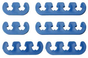 "BLUE ""DELUXE"" Style Plug Wire Separators. Fits 7 to 9mm Wires"