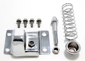 Hood Latch Kit; 1967-81 Chevy Camaro (only)-CHROME