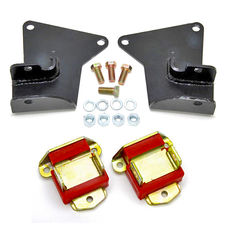 SB (Gen 1),BB Chevy(Mark IV) in 64-72 GM A-Body (NOT CHEVY) Mount Kit-Poly Pads