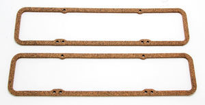"5/16"" Thick Valve Cover Gaskets (CORK); 1955-86 Chevy V8 265-350"