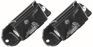 Heavy-Duty replacement FORD RANGER motor mount pads. For part#'s 9716 and 9736.