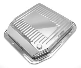 TRANSMISSION PAN CHROME FORD AOD 1980-91