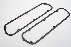 Valve Cover Gaskets; STEEL CORE/RUBBER; Ford 260, 289, 302, 351W (Pr)