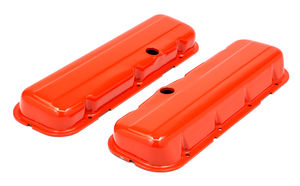 CHEVY 396-502 SHORT ORANGE POWDER COATED VALVE COVERS