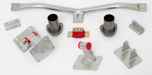 LS CONVERSION MOUNT KIT; 1982-92 F-Body (3rd Gen) with 4L60E/65E Transmission