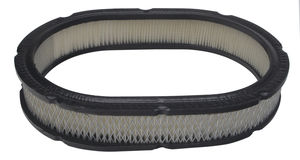 "Oval Air Filter Element; 7.88"" Width, 11.375"" Length, 2"" Tall- PAPER"