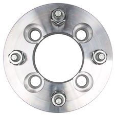 "4 LUG Wheel Adapters;4.5"" WHEEL Dia;100mm HUB Dia;12mmx1.5 Thread (pr)- ALUMINUM"