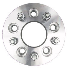 "5 LUG Wheel Spacers; 4.75"" Bolt Circle; 12mmx1.5 Threads (pr)- ALUMINUM"