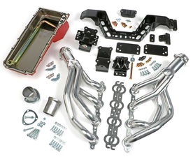 SWAP IN A BOX KIT-LS ENGINE IN 67-69 F-BODY; 68-74 X-BODY MAN. TRANS HTC COATED