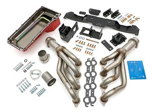 "Engine ""SWAP IN A BOX"" KIT; LS in 70-74 Camaro/Firebird; Auto Trans- Raw Headers"