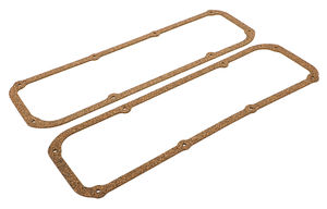 VALVE COVER GASKETS; Ford 351C-351M-400M and Boss 302- Cork/Rubber Nitrile
