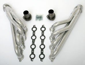 "LS in 1978-87 A-Body/82-88 G-Body Headers; 1 3/4"" Dia, Mid-Length-HTC"