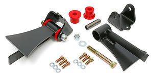 LS SERIES Universal Street Rod Bushing Mounts. For use with HEDMAN Tight Tubes.