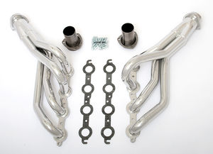 "LS in 1982-93 CHEVY S-10 (2WD) Headers;1 5/8"" Dia, Mid-Length Tubes-HTC"