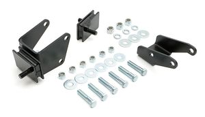 MOPAR B/RB into1967-72 A-BODY (with SLANT 6 K-member) Motor Mount Kit