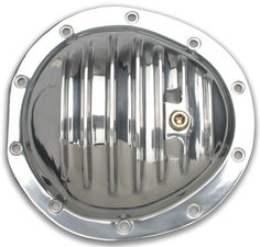 GM 1/2 and 3/4 Ton Trucks, Polished Aluminum Differential Cover Kit