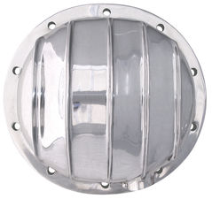GM Intermed, 88-Up GM 1/2 Ton (10 Bolt) Polished Aluminum Differential Cover Kit