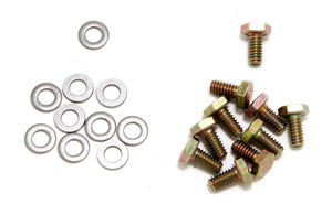 Timing Chain Cover Bolts (ZINC)- CHEVY 4.3L V6 or SB Chevy 283-400