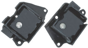 Heavy-Duty replacement Late Model SB FORD motor mount pads. For #'s 4977, 4997