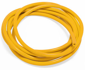 VACUUM HOSE (silicone); YELLOW: 6MM Diameter- 10ft. Roll