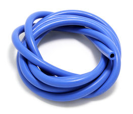 VACUUM HOSE (silicone); BLUE: 8MM Diameter- 10ft. Roll