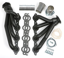 "S10 & 64-67 A-BODY / LS ENGINE SWAP HEADERS 1-1/2""- BLACK MAXX"