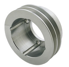 CRANKSHAFT Pulley; 2 Groove; OLDSMOBILE 330-455- Mach. ALUMINUM