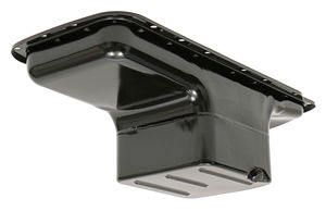 "1966-Up Mopar 361-440 B and RB, 426 ""OEM STYLE"" Oil Pan- Asphalt Black (7 Qt)"