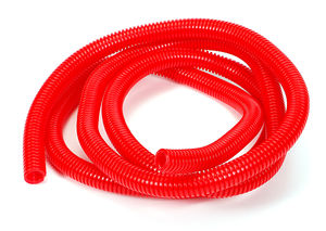 "RED Wire Harness; Convoluted; 1/2"" Diameter- (7 ft)"