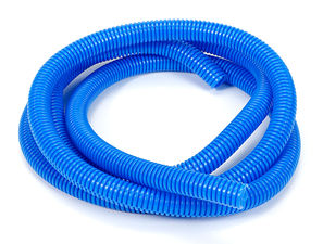 "BLUE Wire Harness; Convoluted; 1/2"" Diameter- (7 ft)"