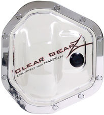 CLEARGEARZ Clear Differential Cover; DANA 60 Front (10 Bolt)- Clearance