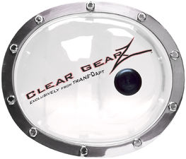 CLEARGEARZ Clear Differential Cover; DANA 35 REAR- Clearance