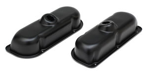FORD 3.8L V6 ASPHALT BLACK POWDER COATED VALVE COVERS