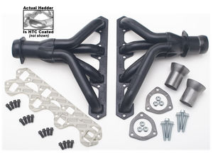 "BLOCK HUGGERS; FORD 289-351W; 1-1/2"" Tubes-HTC Ceramic Coated"