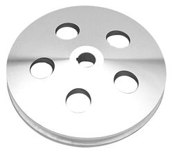 POWER STEERING Pulley; 1967-84 GM Vehicles- Pol. ALUMINUM