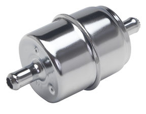 "5/16"" DISPOSABLE FUEL FILTER-CHROME (not for fuel injection)"
