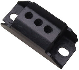TRANSMISSION MOUNT PAD; Steel/Rubber; TH350/400, 700R4, Muncie, Saginaw, Others