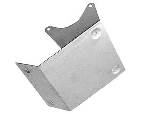 STARTER Heat Shield; Chevy V8 and 90deg V6- ALUMINUM